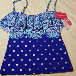 Lilly pulitzer swim top